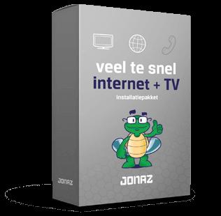 Internet en televisiepakket